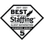 Best of Staffing Client Diamond Award 2021_BW150x150