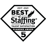 Best of Staffing Talent Diamond Award 2021_BW150x150